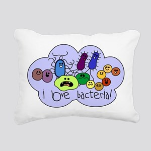 bacterialove Rectangular Canvas Pillow