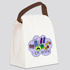 bacterialove Canvas Lunch Bag