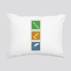 beauttans Rectangular Canvas Pillow