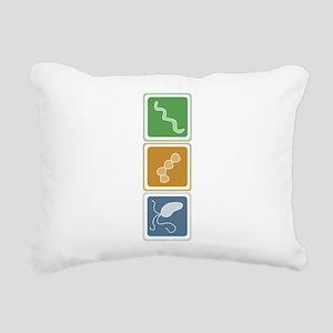 beauttans Rectangular Canvas Pillow