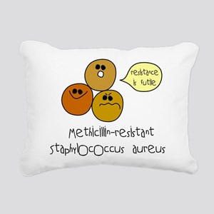 mrsa Rectangular Canvas Pillow