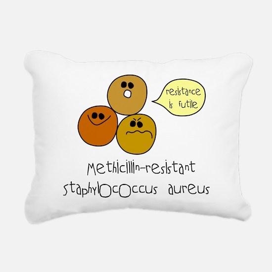 mrsa.png Rectangular Canvas Pillow