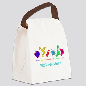 wanted W Canvas Lunch Bag