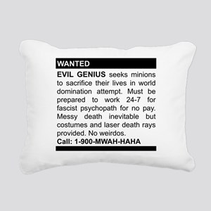 2-genius Rectangular Canvas Pillow