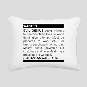2-genius Rectangular Canvas Pillow