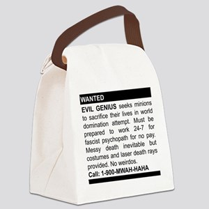 2-genius Canvas Lunch Bag