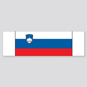 Slovenia - National Flag - Current Sticker (Bumper