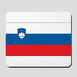Slovenia - National Flag - Current Mousepad