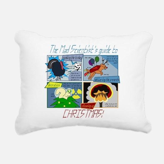 Xmas Evil Genius Rectangular Canvas Pillow