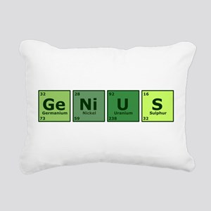 geniustrans Rectangular Canvas Pillow