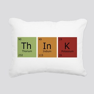 3-thinktrans Rectangular Canvas Pillow