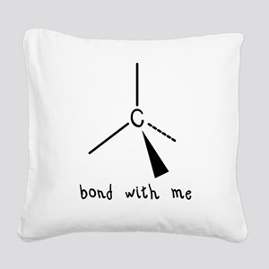bond Square Canvas Pillow