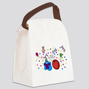 Let's Cellebrate Canvas Lunch Bag