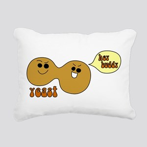 Yeast Buddies Rectangular Canvas Pillow