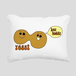 Yeast Buddies Rectangular Canvas Pillow