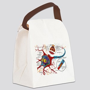 Neuron cell Canvas Lunch Bag
