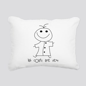 Lab Coats are Sexy Rectangular Canvas Pillow