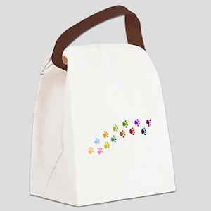 4-3-feet trans Canvas Lunch Bag