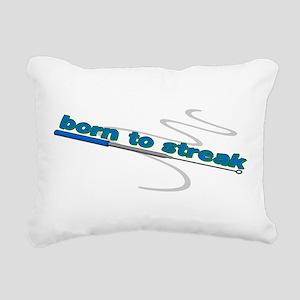 Inoculating Loop Rectangular Canvas Pillow