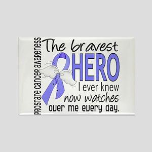 Bravest Hero I Knew Prostate Cancer Gifts Rectangl