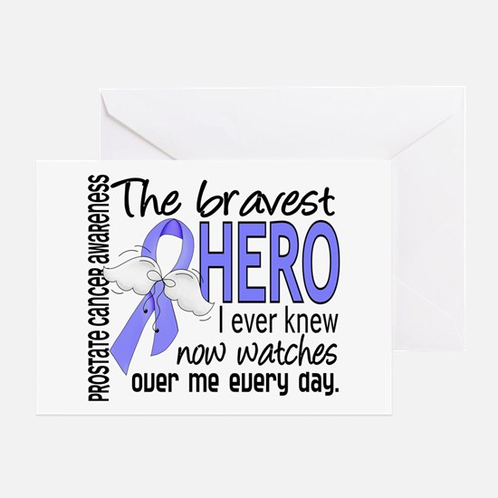 Bravest Hero I Knew Prostate Cancer Gifts Greeting
