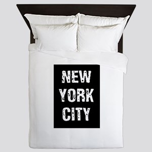 New York City Queen Duvet