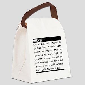 2-genius Canvas Lunch Bag