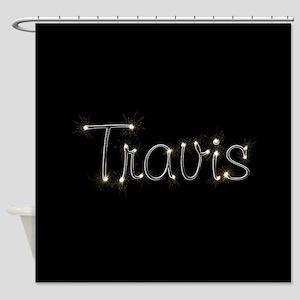 Travis Spark Shower Curtain