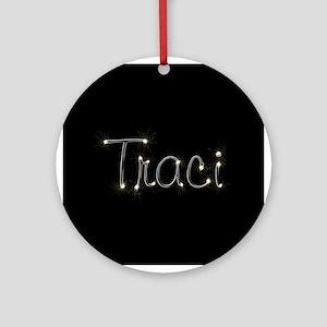 Traci Spark Ornament (Round)