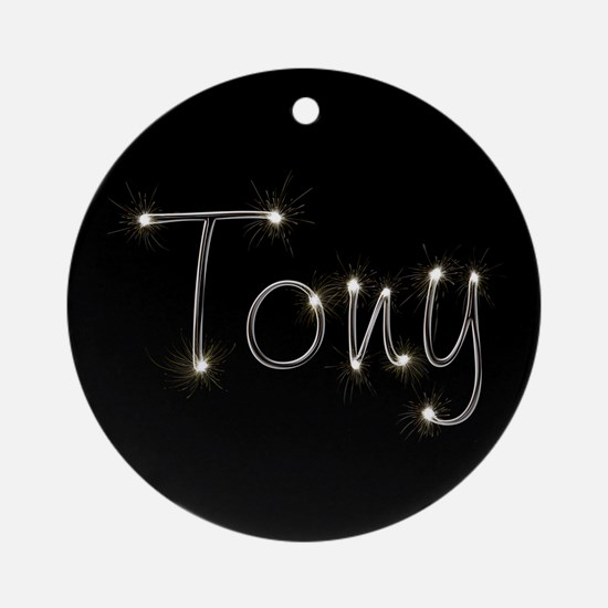 Tony Spark Ornament (Round)
