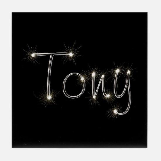 Tony Spark Tile Coaster