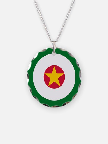 Suriname AF roundel Necklace