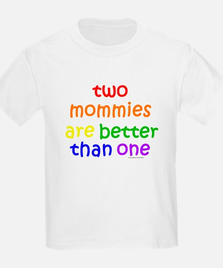 two mommies Kids T-Shirt