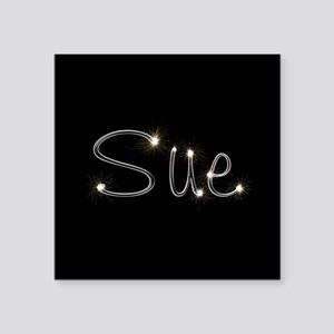 """Sue Spark Square Sticker 3"""" x 3"""""""