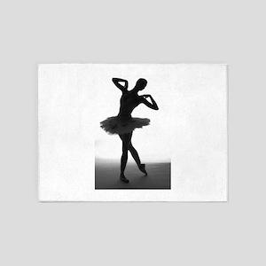 Ballet Dancer 5'x7'area Rug