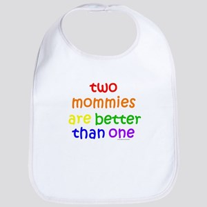 two mommies Bib