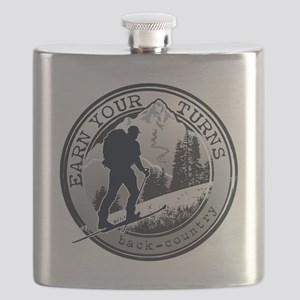 Earn Your Turns Flask