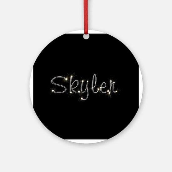 Skyler Spark Ornament (Round)