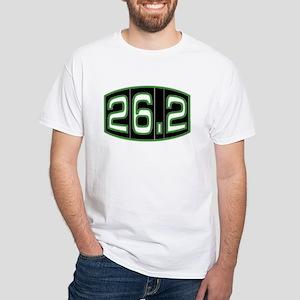Organic Cotton Tee- 26.2 mile marathon shirt T-Shi