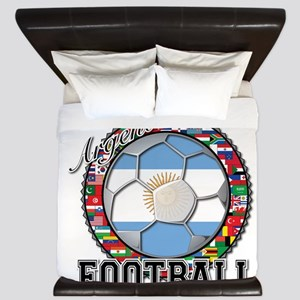 Argentina Flag World Cup Football Futbol Ball with