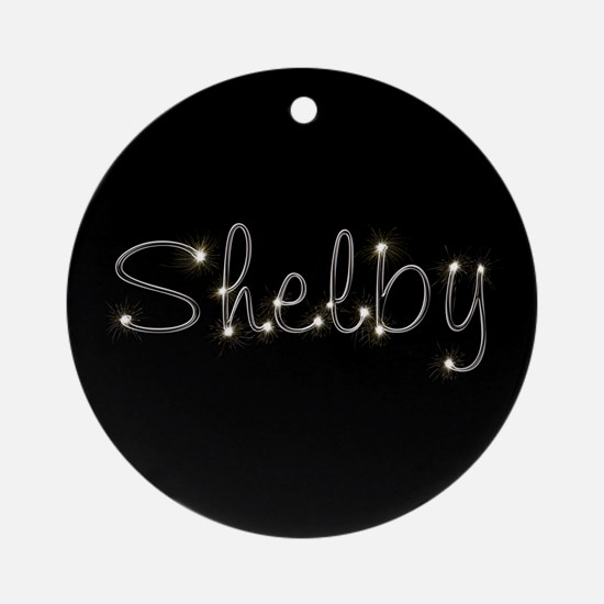 Shelby Spark Ornament (Round)