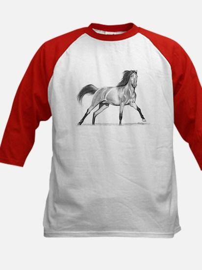 Buckskin Horse Kids Baseball Jersey