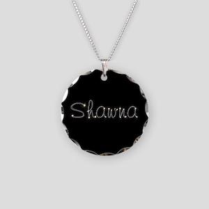 Shawna Spark Necklace Circle Charm