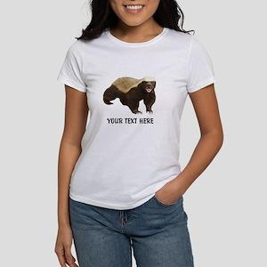 Honey Badger Customi Women's Classic White T-Shirt
