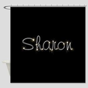 Sharon Spark Shower Curtain