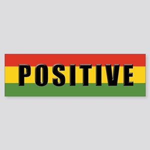 Rasta Gear Shop Positive Bumper Sticker