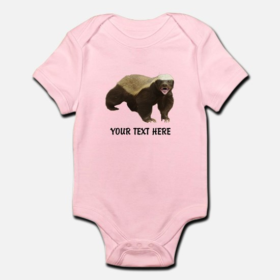 Honey Badger Customized Infant Bodysuit