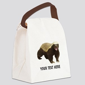 Honey Badger Customized Canvas Lunch Bag