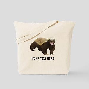 Honey Badger Customized Tote Bag