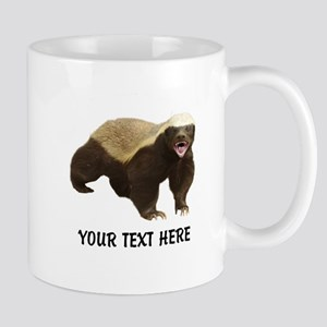 Honey Badger Customized 11 oz Ceramic Mug